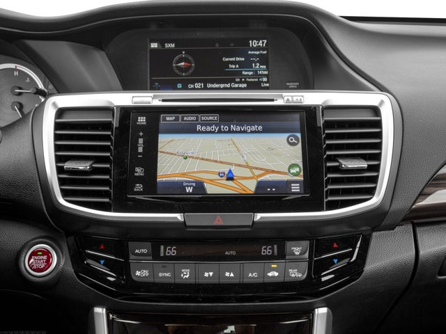 2017 Honda Accord Sedan Ex L Cvt W Navi Sensing In Plattsburgh