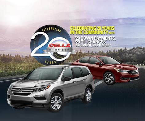DELLA Honda in Plattsburgh Celetes 20 Years! - DELLA Honda in ...